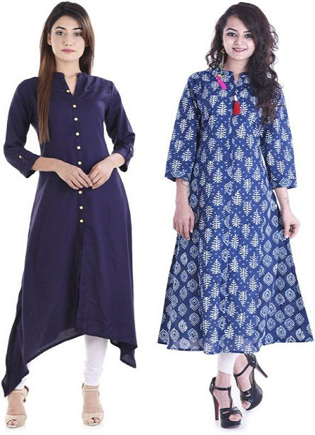 The Different Kurtis Designs to try out According to Body Types