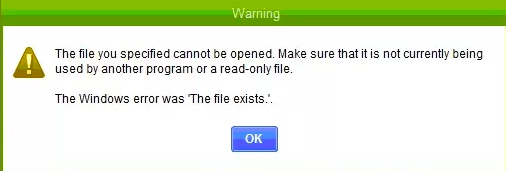 'The file you specified cannot be opened' QuickBooks Error Support QBCSN