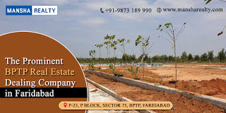 The Prominent BPTP Real Estate Dealing Company in Faridabad