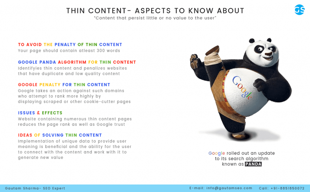 Thin Content and How to Avoid It | SEO EXPERT INDIA