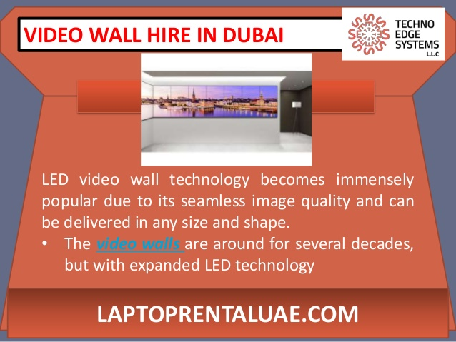 Things to Know about LED Video Wall Hire in Dubai