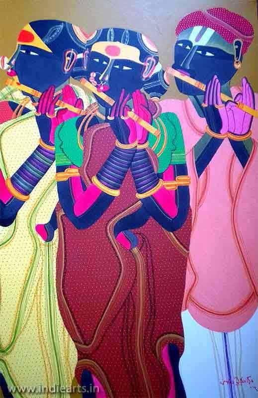 Thota Vaikuntam   Thota Vaikuntam Paintings   Thota Vaikuntam Prints