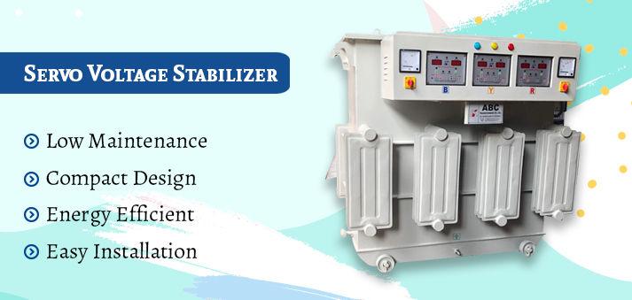 Three Phase Servo Stabilizer Manufacturers in India