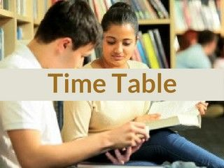 UP Board 12th Time Table 2019 - Download Class 12th Date Sheet 2019