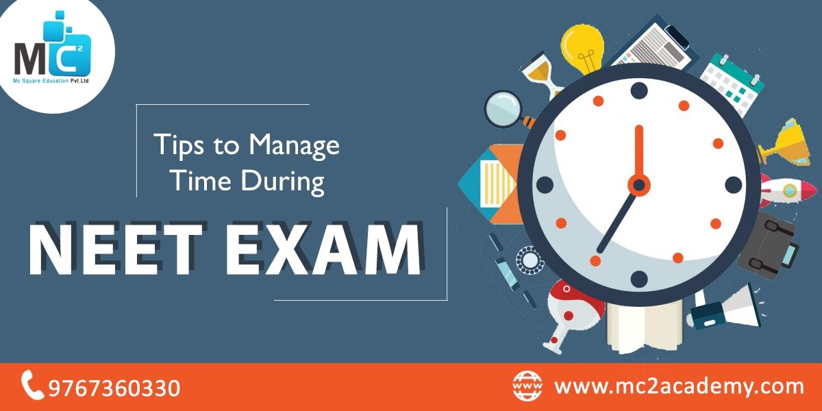 Tips to Manage Time during NEET Exam | MC2 Academy