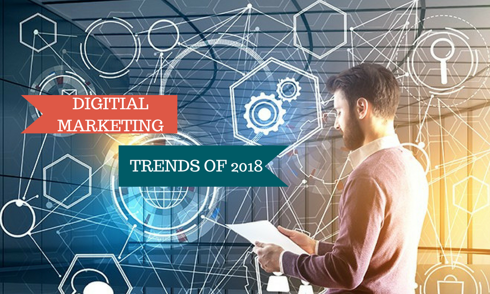 Top Digital Marketing Trends That Will Explode Your Brand Awareness in 2018 | GenuineLikes | Blog