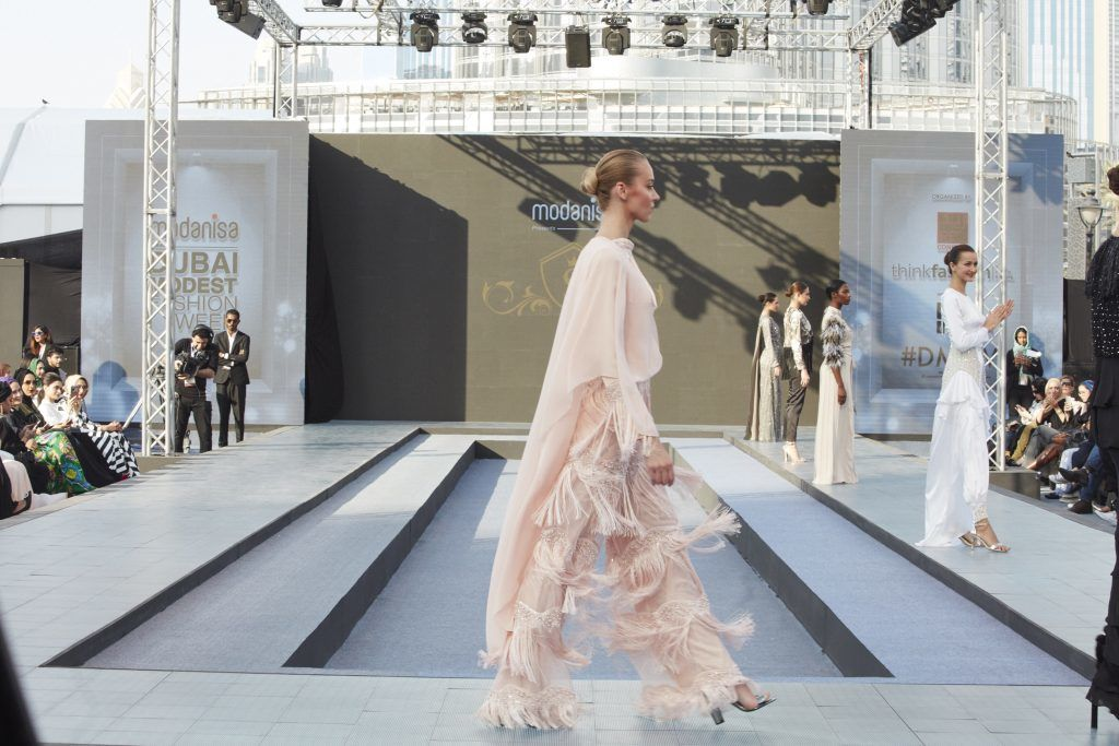 Top Models Call for Diversity at Dubai Modest Fashion Week