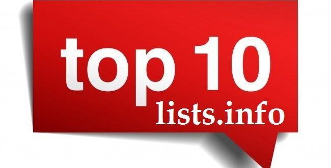 Top 10 Lists - World Most Popular Top 10 Lists