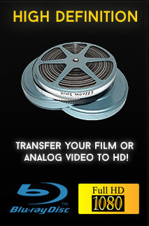 Film to DVD Conversion Store - Video Transfer Service Los Angeles, CA