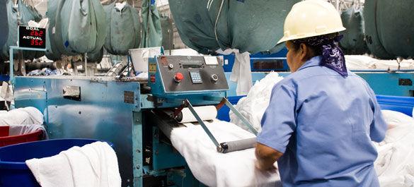 Automatic laundry folding machine, Automatic laundry folder