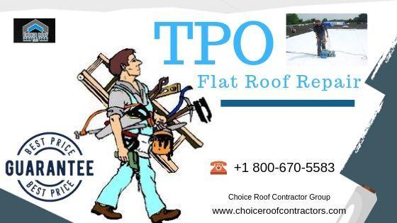 TPO Flat Roof Repair