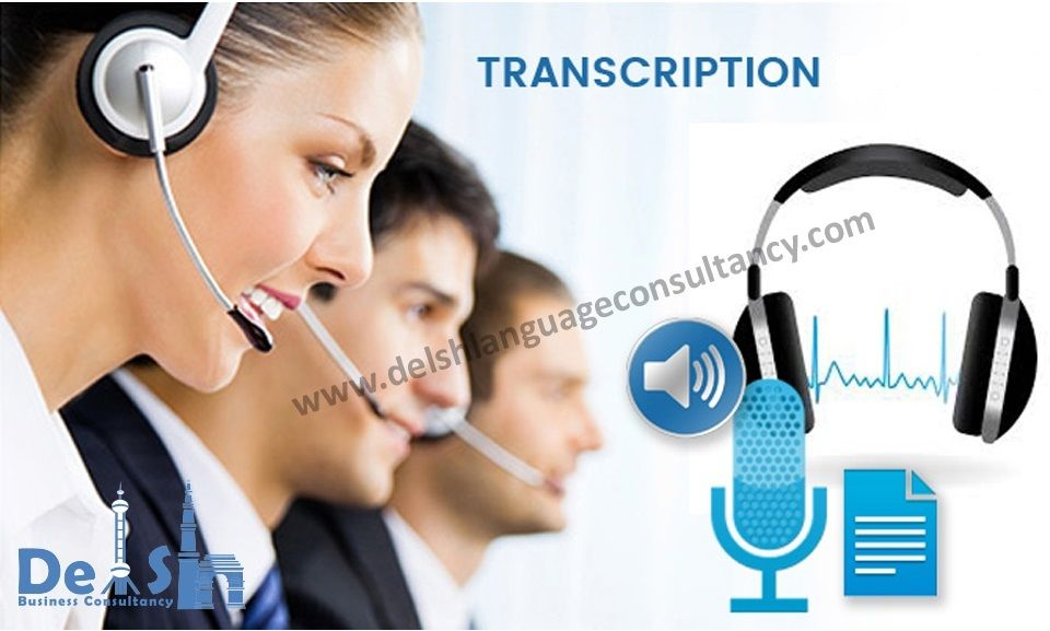 Transcription Company in India | Delsh Business Consultancy