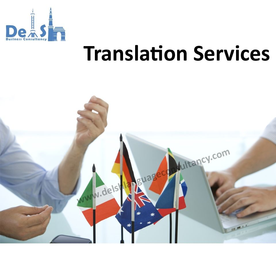 Translation Services in India | Delsh Business Consultancy