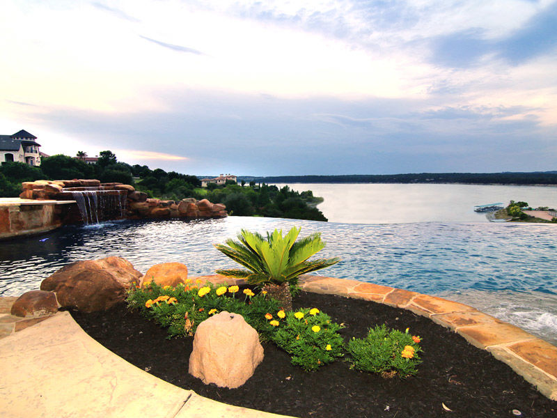 Custom home in Lake Travis
