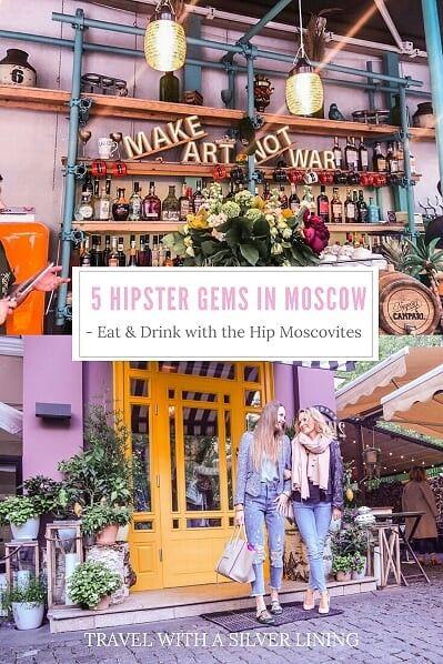Trendy Moscow Restaurants!