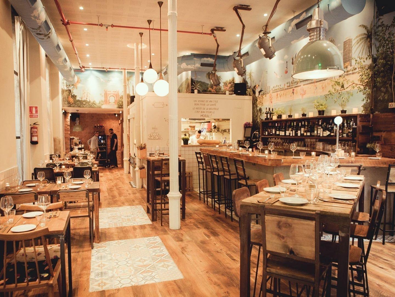 Trendy Restaurants Barcelona