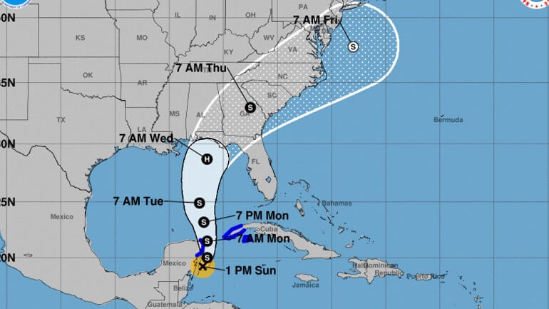 Tropical Storm Hurricane is About to Hit Gulf Coast Forecasting This Week, As a Michael Forms