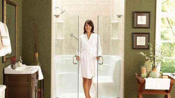 Installing A Frameless sliding shower doors