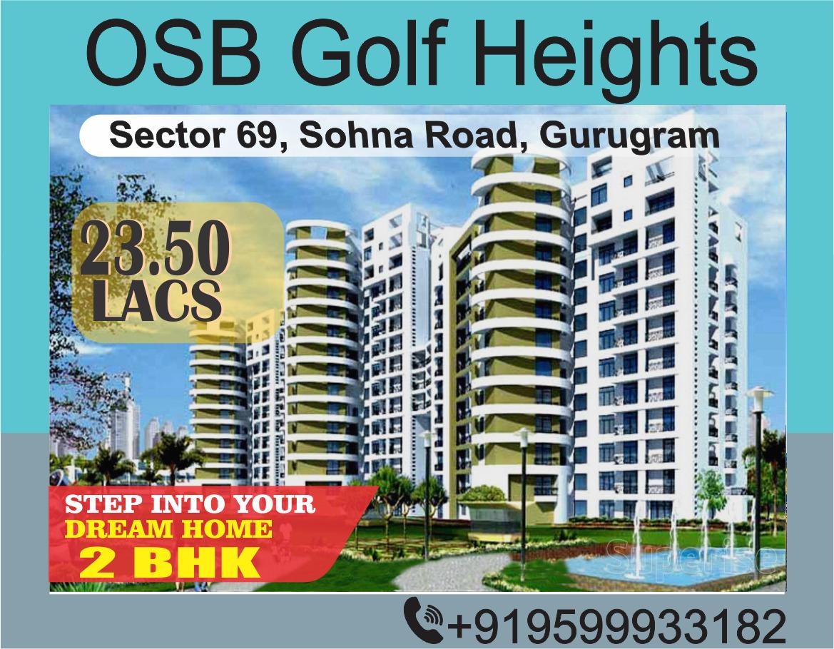 osb golf heights sector 69 gurgaon     osb golf heights