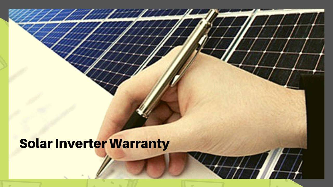 Solar Energy Installation — Buy Best Quality Solar Inverter with Warranty