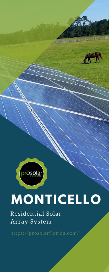 MONTICELLO Residential Solar Array System