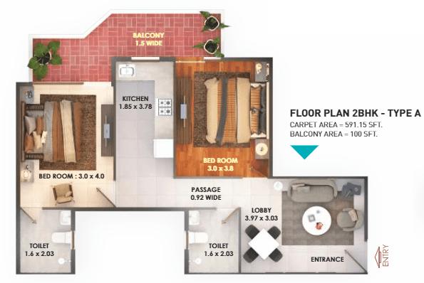 Pride Floor Plan Type a