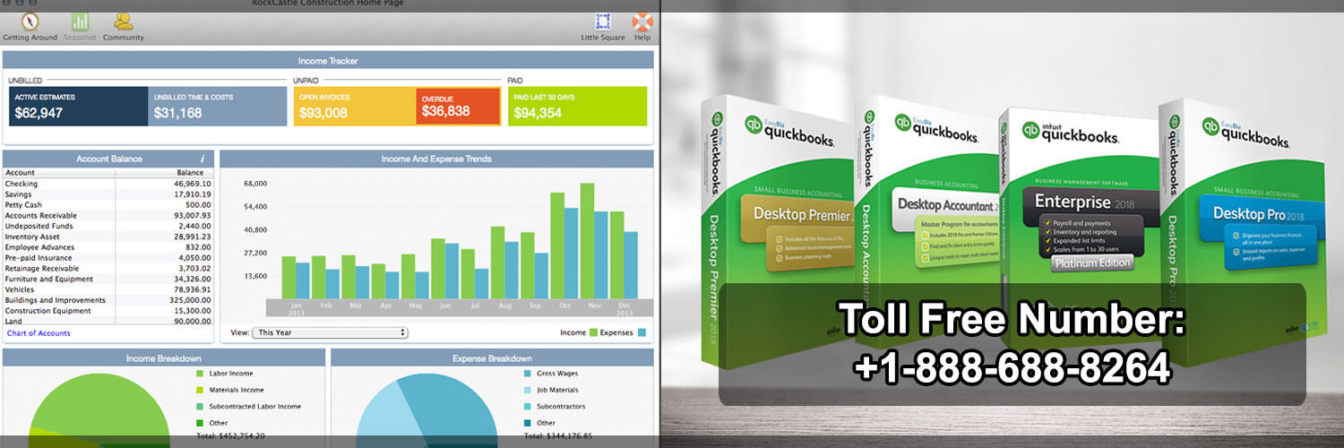 Get Support By QuickBooks team for resolving software error +1-888-688-8264