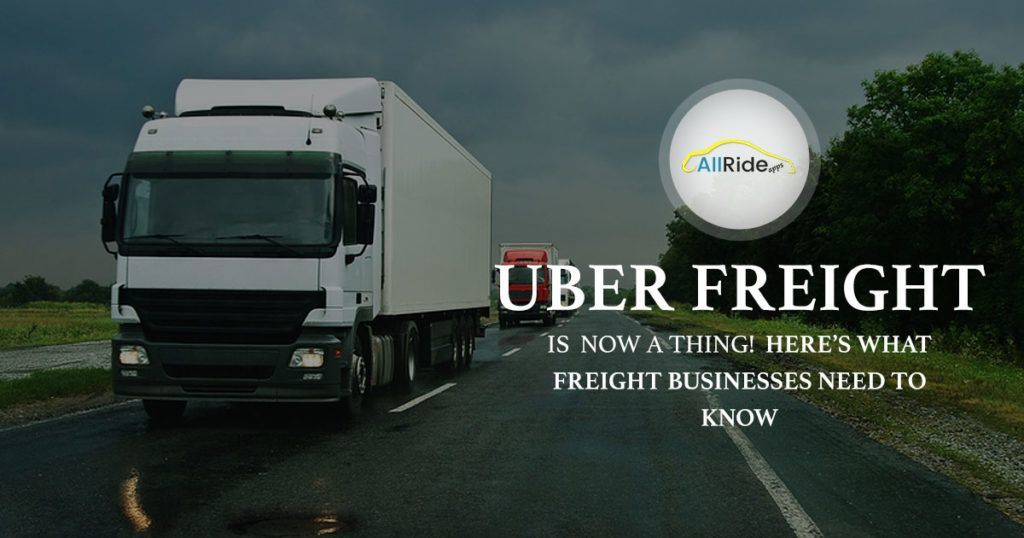 Uber for Trucking App Is Now Official With Uber Freight
