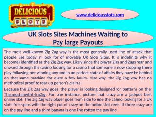 UK Slots Sites Machines Waiting to Pay large Payouts - Download - 4shared - SUMMAY SANGA
