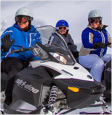 Snowmobiling, Outdoor winter park adventure | Colorado Snowmobile trails