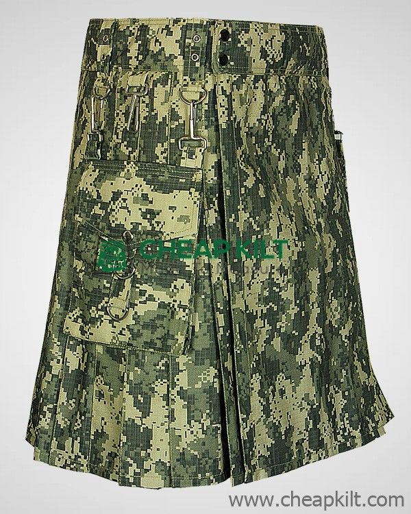 Digital Camo Kilt for Men