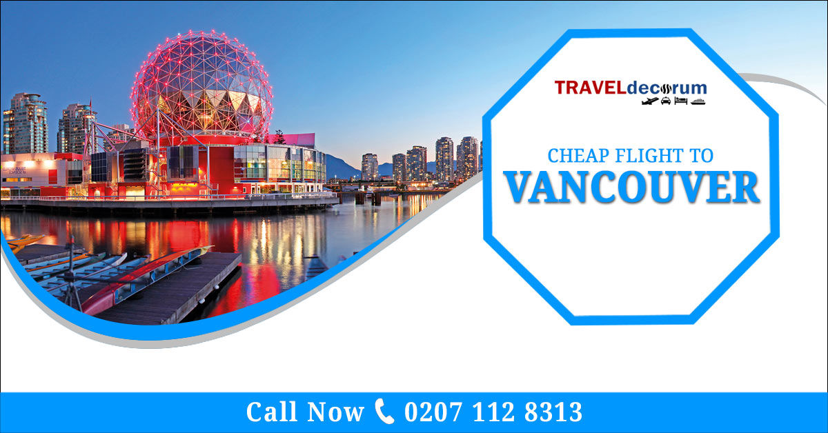 cheapest flights to vancouver from london