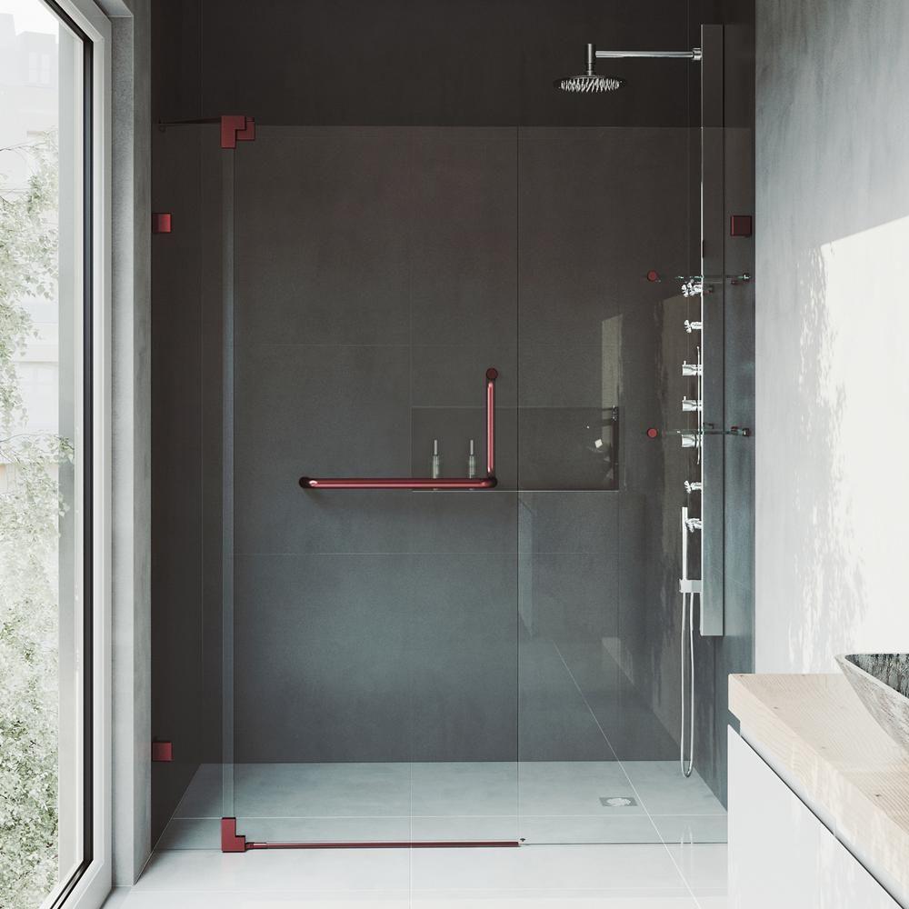 Frameless Pivot Shower Doors