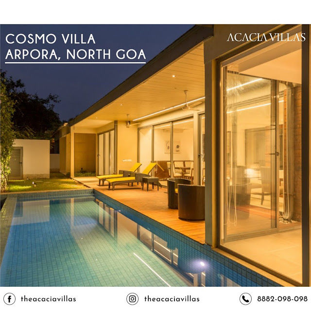 Acacia Villas: Villas Near Anjuna For Rent Serving Visitors in Popular Tourist Hub