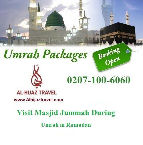 Visit Masjid Jummah During Umrah in Ramadan