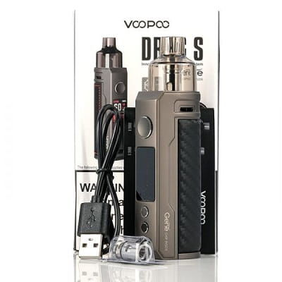 VOOPOO Drag S Mod Pod Kit - Wholesale Vapor Supplies | USA Vape Distributor