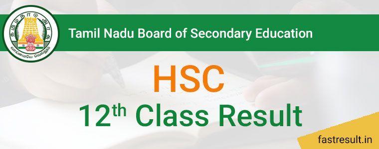 Tamil Nadu Board 12th Result 2019 | TN Board 12th Class Result 2019 @Fastresult