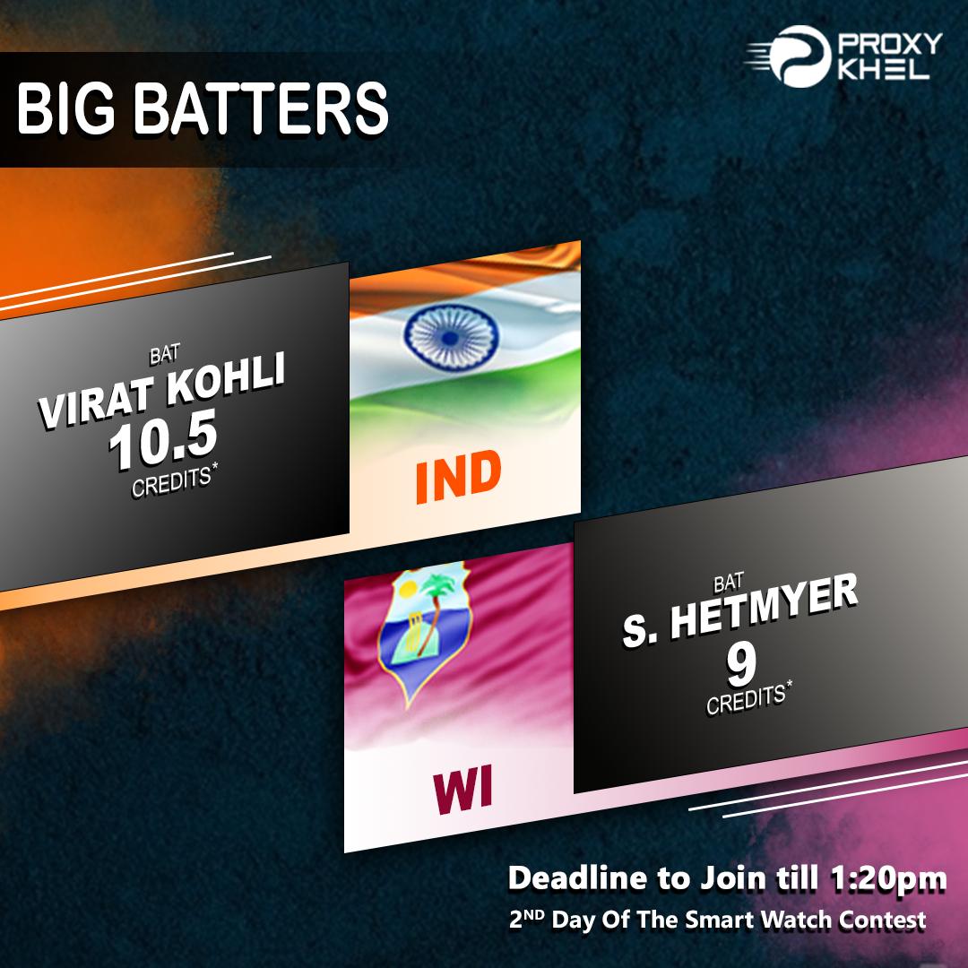 IND vs WI 2nd ODI | Proxy Khel Fantasy Cricket Predictions. - Proxy Khel - Fantasy Cricket, Fantasy Kabaddi, Predictions