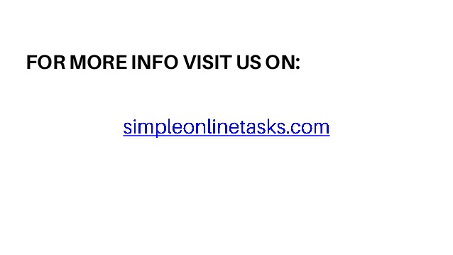 We distinguish our selves by quality. - Simple Onlinetask