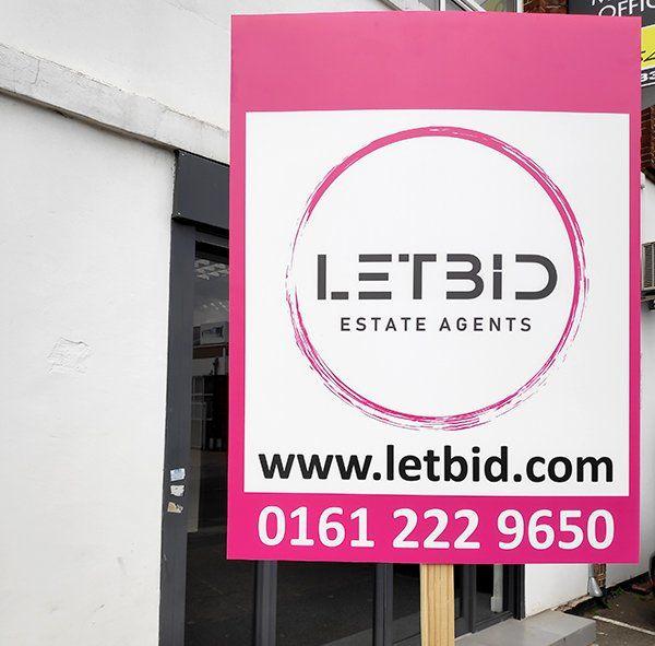 Estate Agent Board Printing | Printed Correx Estate Board