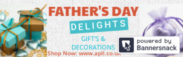 Father's Day Gift's, Decorations, Ribbons & chocolates available Online