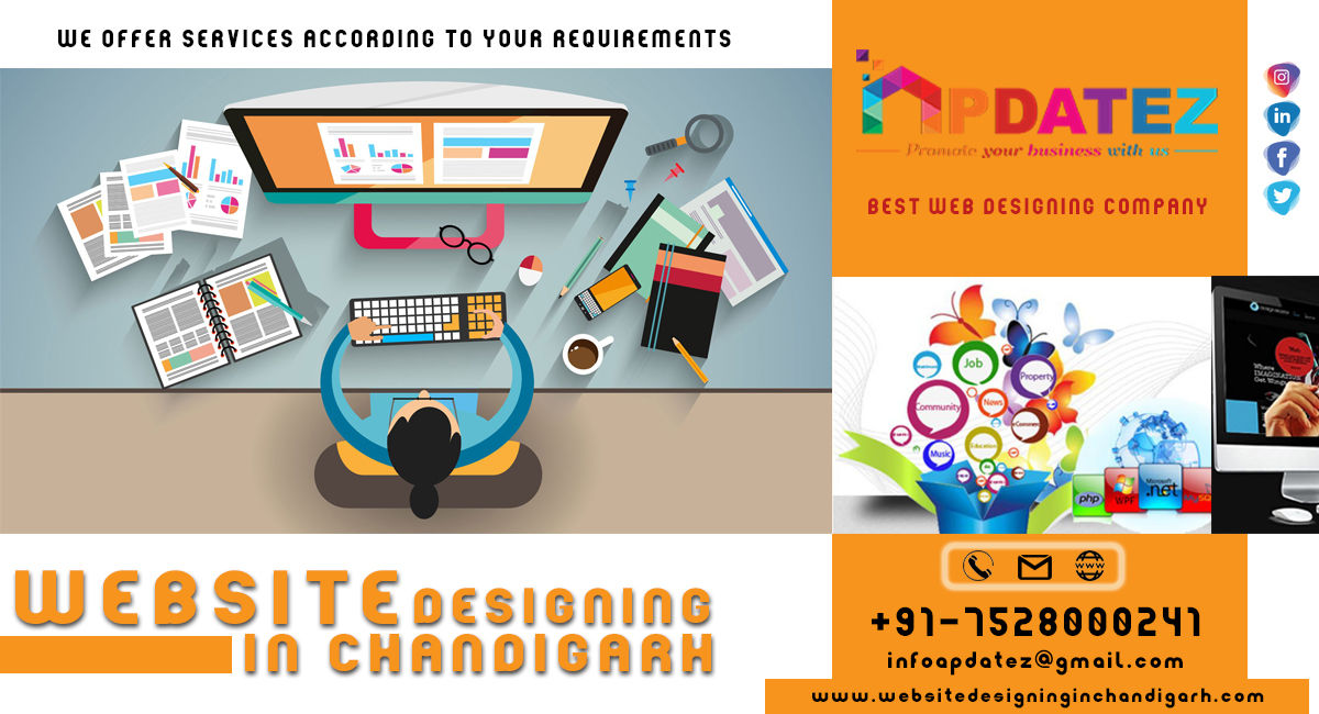Best Web Design Company in Chandigarh || Promote Your Business With Us - Website Designing in Chandigarh