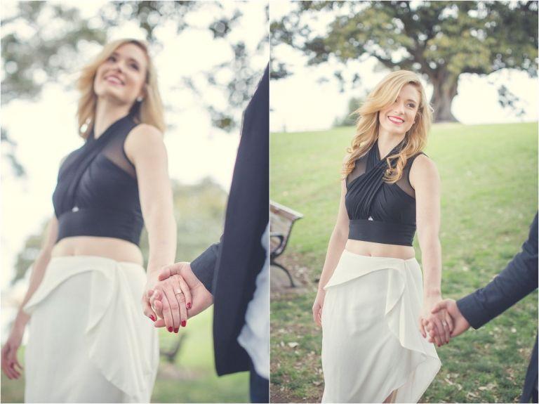 Meredith & Anthony Pre Wedding Photoshoot in Sydney, Australia