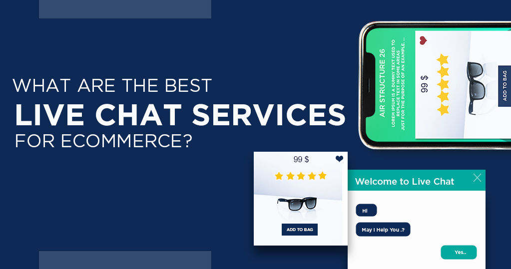 What are the best Live chat services for ecommerce?