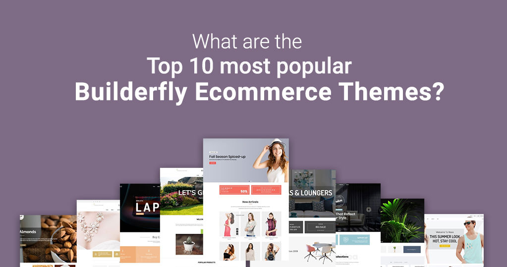 What are the Top 10 Most Popular Builderfly Ecommerce Themes?