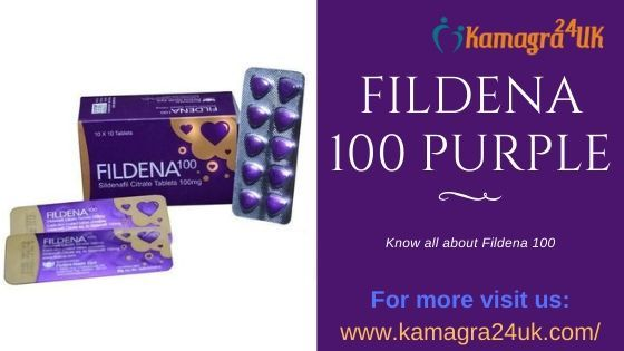 What is Fildena? and How Fildena 100 Purple work?
