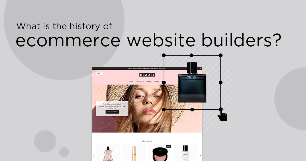 What Is the History of Ecommerce Website Builders?