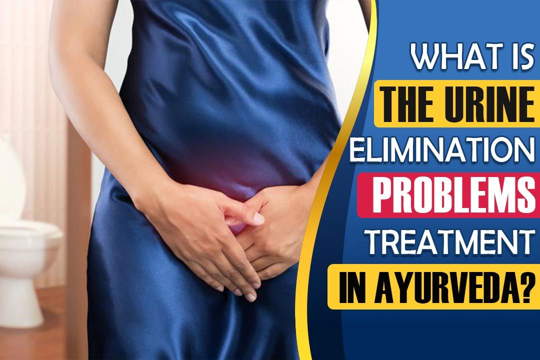What is the Urine elimination problems treatment in Ayurveda?