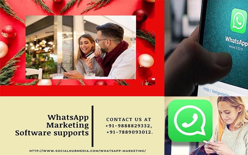 WhatsApp marketing software supports & WhatsApp marketing messenger
