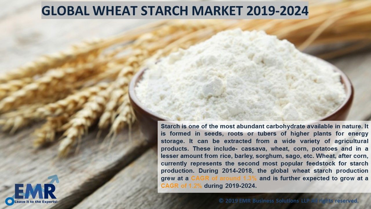 Wheat Starch Market Price Trends, Size, Share Growth, Report 2020-2025